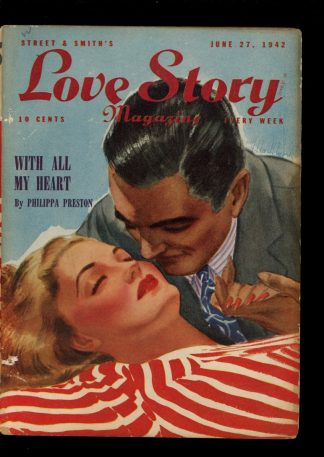Love Story Magazine - 06/27/42 - Condition: VG - Street & Smith