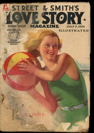Love Story Magazine - 07/02/32 - Condition: FA - Street & Smith