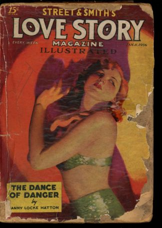 Love Story Magazine - 01/11/36 - Condition: PR - Street & Smith