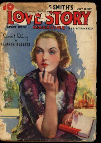 Love Story Magazine - 07/31/37 - Condition: FA-G - Street & Smith