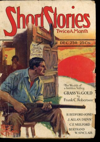 Short Stories - 12/25/26 - Condition: G-VG - Doubleday