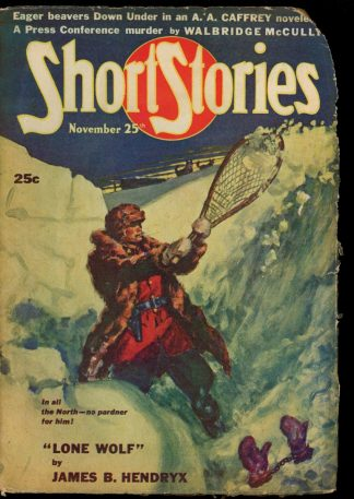 Short Stories - 11/25/46 - Condition: FA-G - Short Stories