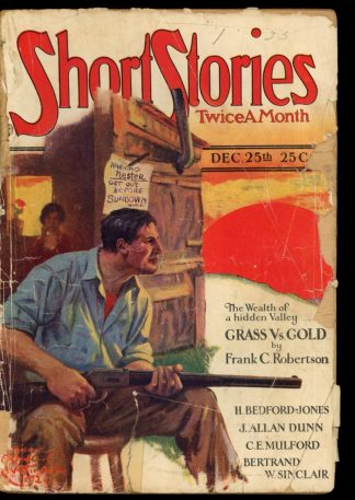 Short Stories - 12/25/26 - Condition: FA-G - Doubleday