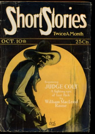 Short Stories - 10/10/26 - Condition: G-VG - Doubleday