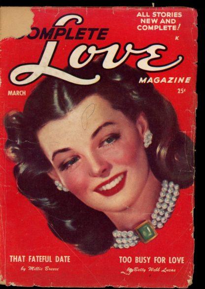 Complete Love Magazine - 03/51 - Condition: FA - Ace