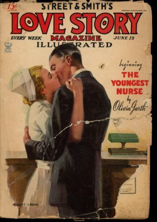 Love Story Magazine - 06/15/35 - Condition: FA-G - Street & Smith
