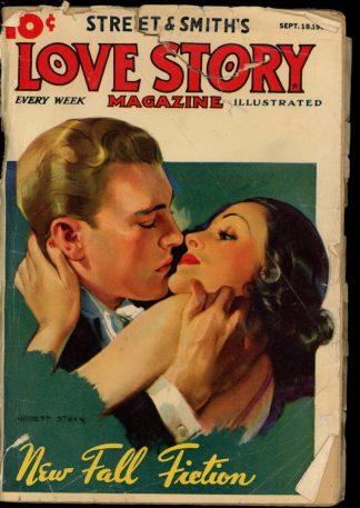 Love Story Magazine - 09/18/37 - Condition: G - Street & Smith
