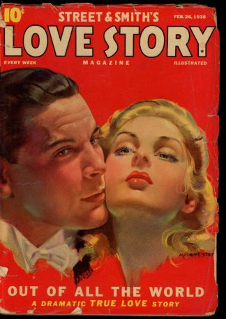 Love Story Magazine - 02/26/38 - Condition: VG - Street & Smith