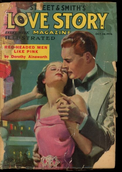 Love Story Magazine - 10/24/36 - Condition: FA - Street & Smith