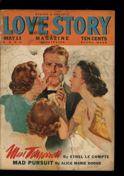 Love Story Magazine - 05/11/40 - Condition: G-VG - Street & Smith