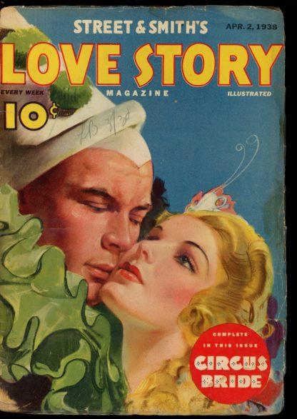 Love Story Magazine - 04/02/38 - Condition: G - Street & Smith
