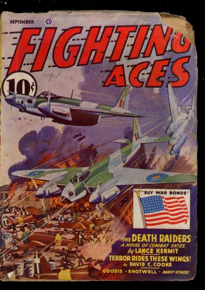 Fighting Aces - 09/43 - Condition: FA - Popular