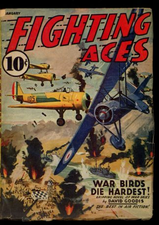 Fighting Aces - 01/41 - Condition: VG - Popular