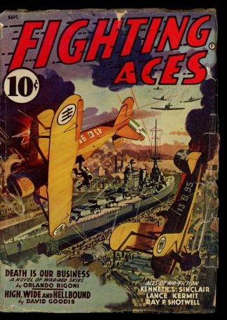 Fighting Aces - 09/41 - Condition: VG - Popular