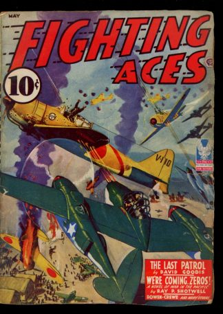 Fighting Aces - 05/43 - Condition: G-VG - Popular