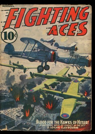 Fighting Aces - 11/40 - Condition: VG-FN - Popular