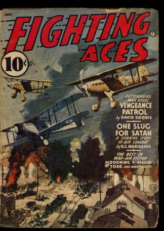 Fighting Aces - 07/41 - Condition: VG - Popular