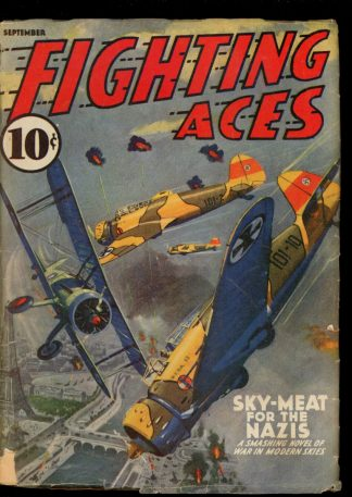 Fighting Aces - 09/40 - Condition: VG - Popular