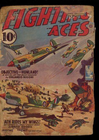 Fighting Aces - 09/42 - Condition: PR - Popular