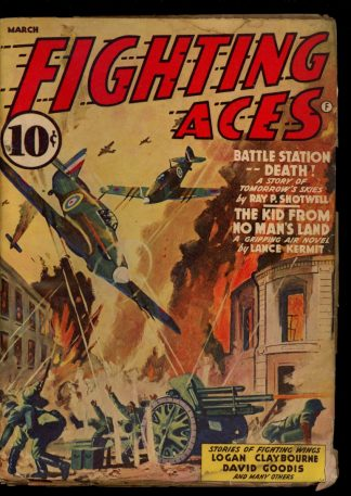 Fighting Aces - 03/42 - Condition: G-VG - Popular