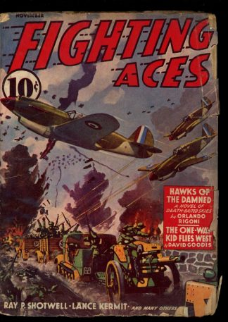 Fighting Aces - 11/41 - Condition: G-VG - Popular