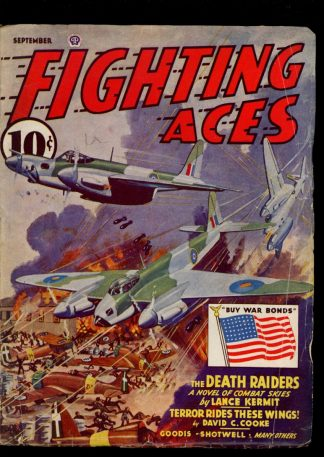 Fighting Aces - 09/43 - Condition: VG - Popular