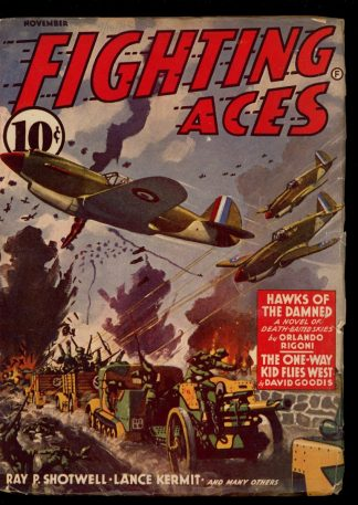Fighting Aces - 11/41 - Condition: VG-FN - Popular