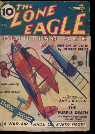 Lone Eagle - 05/35 - Condition: G - Thrilling