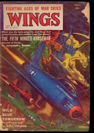 Wings - SPRING/52 - Condition: G-VG - Fiction House