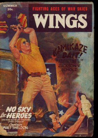 Wings - SUMMER/46 - Condition: G-VG - Fiction House