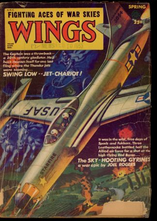 Wings - SPRING/53 - Condition: G - Fiction House