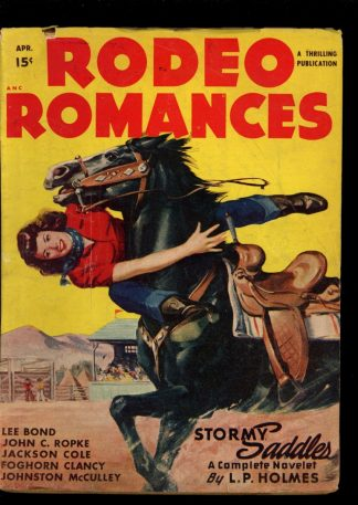 Rodeo Romances - 04/48 - Condition: VG-FN - Thrilling