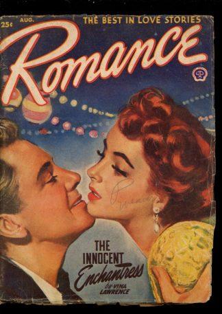 Romance - 08/50 - Condition: G-VG - Popular