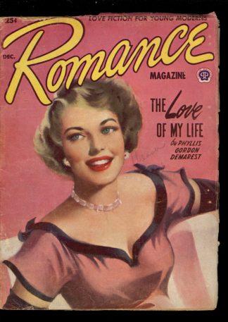 Romance Magazine - 12/52 - Condition: G-VG - Popular