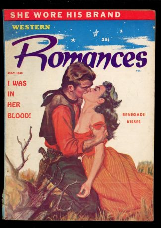 Western Romances - 07/59 - Condition: VG - Columbia