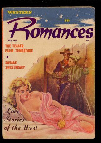 Western Romances - 03/59 - Condition: VG - Columbia