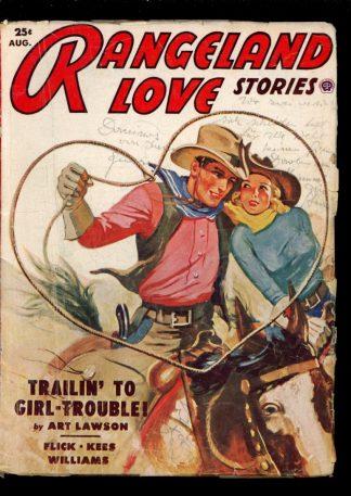 Rangeland Love Stories - 08/53 - Condition: G-VG - Popular