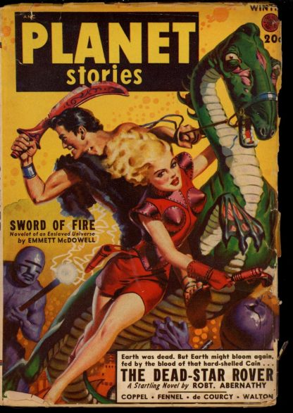 Planet Stories [CANADIAN] - WINTER/49 - Condition: G - Fiction House