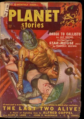 Planet Stories - 11/50 - Condition: G - Fiction House