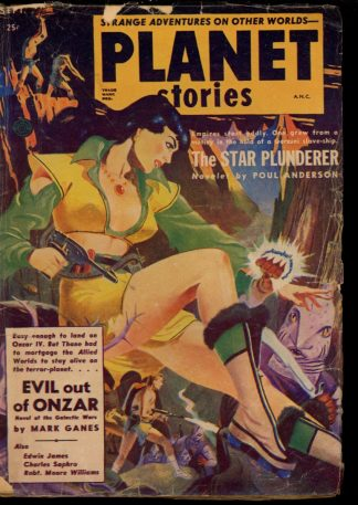 Planet Stories - 09/52 - Condition: VG - Fiction House