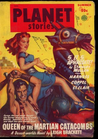 Planet Stories - SUMMER/49 - Condition: VG - Fiction House
