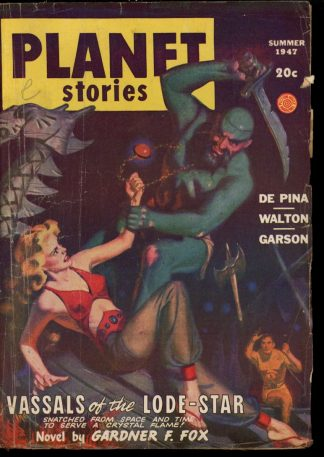 Planet Stories - SUMMER/47 - Condition: G-VG - Fiction House