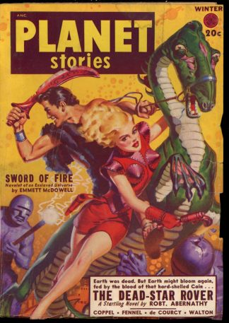 Planet Stories - WINTER/49 - Condition: VG - Fiction House