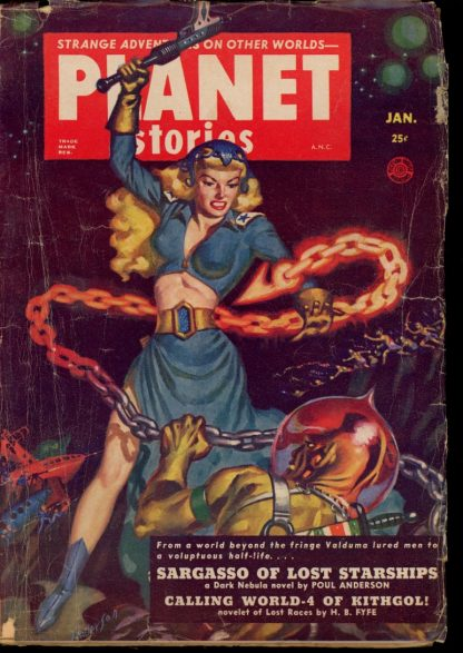 Planet Stories - 01/52 - Condition: G-VG - Fiction House