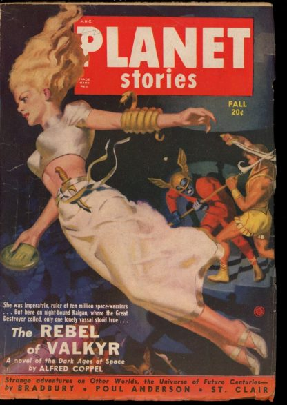 Planet Stories - FALL/50 - Condition: VG-FN - Fiction House
