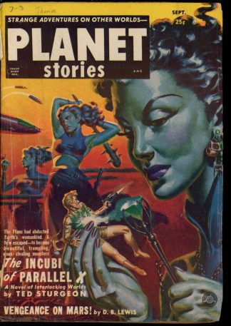 Planet Stories - 09/51 - Condition: G - Fiction House