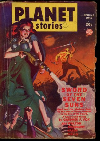 Planet Stories - SPRING/47 - Condition: G-VG - Fiction House