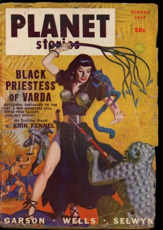 Planet Stories - WINTER/47 - Condition: VG - Fiction House