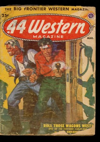 Forty-Four Western Magazine - 03/52 - Condition: G - Popular