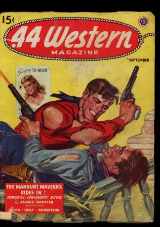 Forty-Four Western Magazine - 09/44 - Condition: G - Popular